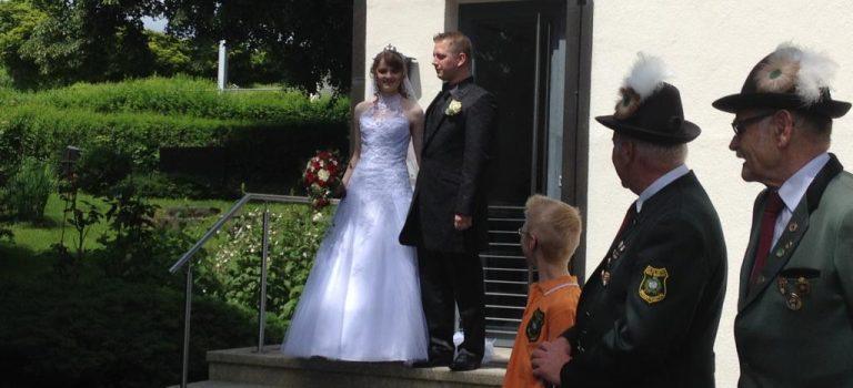 Unsere Daniela hat geheiratet…